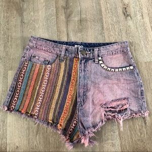 Urban Outfitters BDG High Rise Cheeky Dree Shorts